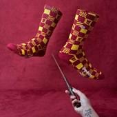 Meia Vans Masculina Harry Potter Crew Gryffindor VN0A3I67SP3