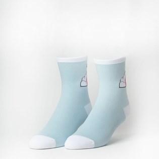 Meia Vans Shinner Sock Light Blue VN0A49ZCUUU