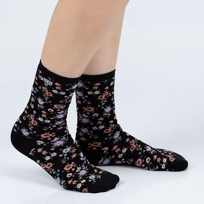 Meia Vans Ticker Sock Covered Ditsy VN0A49ZDYYZ