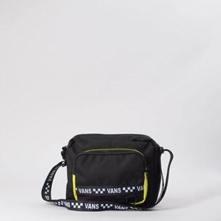 Mini Bolsa Vans WM Vip Too Crossbody Black Lemon VN0A4DT4V42