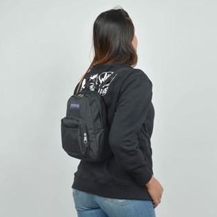 Mini Mochila Jansport Half Pint Black TDH6008