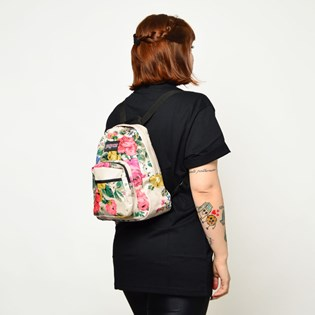 Mini Mochila JanSport Half Pint FX Floral 3C4S43L