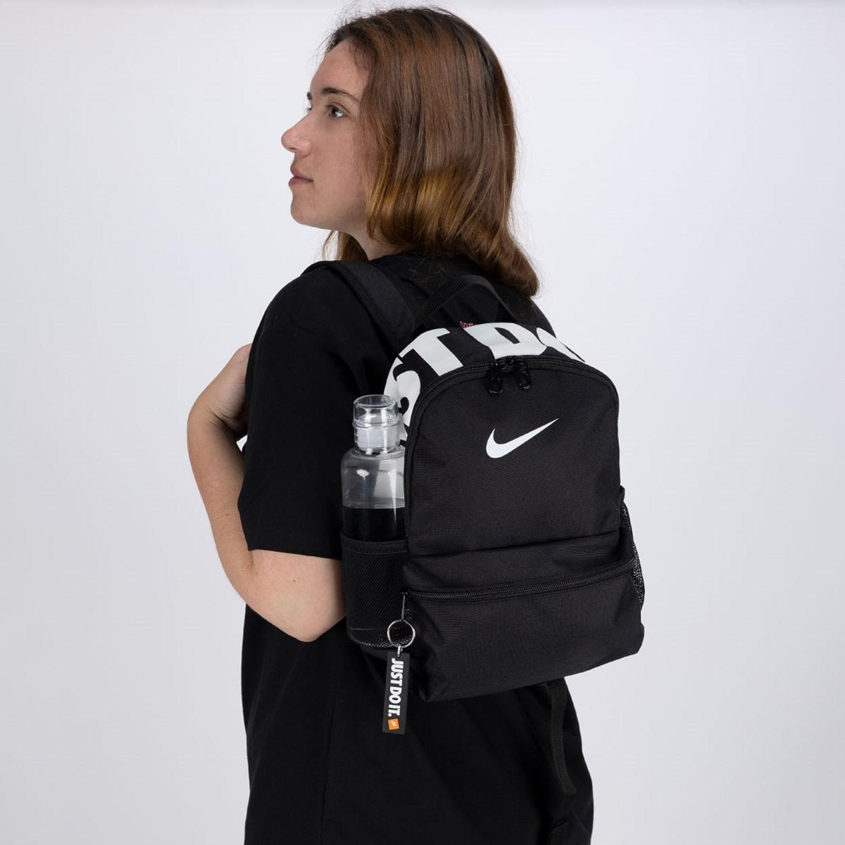 Mini Mochila Nike Brasilia Just Do It Black BA5559-013