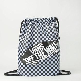 Mini Mochila Vans Benched Bag Black White Checkerboard VN000SUF56M