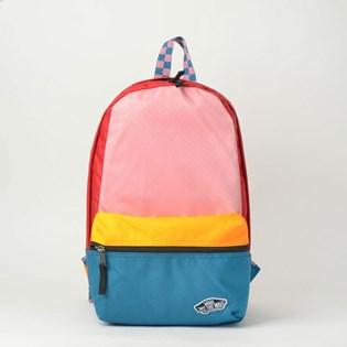 Mini Mochila Vans Calico Backpack Patchwork VN00021TUUW