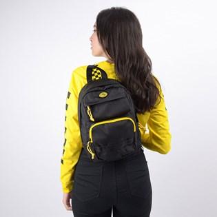Mini Mochila Vans National Geographic Backpack Black VN0A4RGRBLK