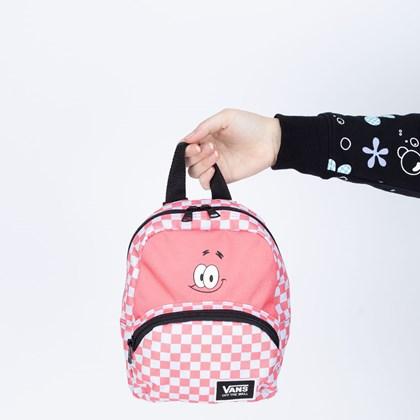 Mini Mochila Vans X Spongebob Squarepants Got This Patrick Pink VN0A5I3EYZ2