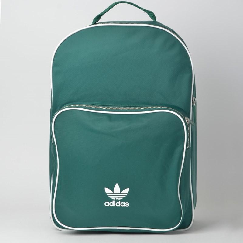 Mochila Adidas BP CL Adicolor Verde Branco DV0185