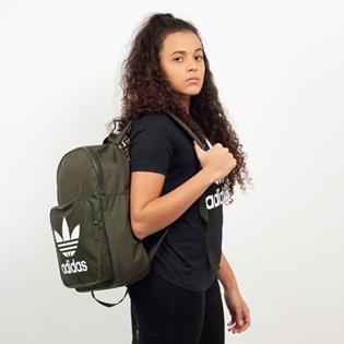 Mochila Adidas BP Clas Trefoil Verde DW5187