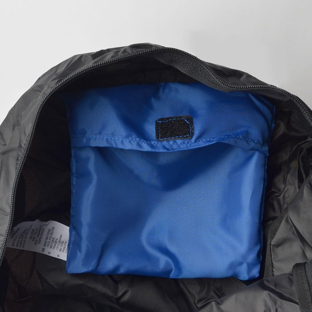 Mochila Adidas BP Packable Preto Azul ED8013