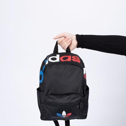 Mochila adidas Mini Adicolor Tricolor Black GN5097