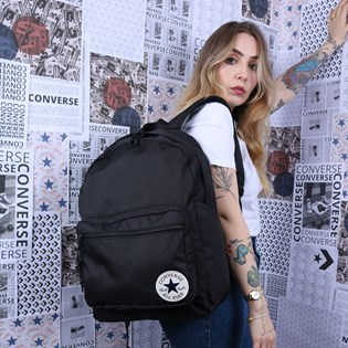 Mochila Converse Go 2 Backpack Black 10017261-A01