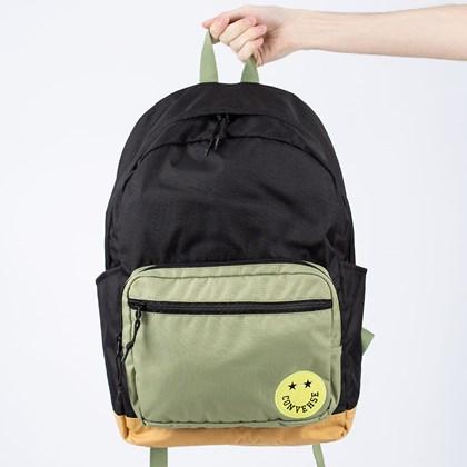 Mochila Converse Go 2 Backpack Black Street Sage 10018974-A01