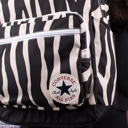 Mochila Converse Go 2 Backpack Black White 10017272-A03