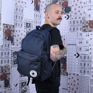Mochila Converse Go 2 Backpack Obsidian Dark 10017261-A02