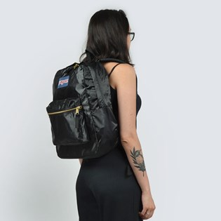 Mochila JanSport High Stakes Black Gold 3C4W0UQ