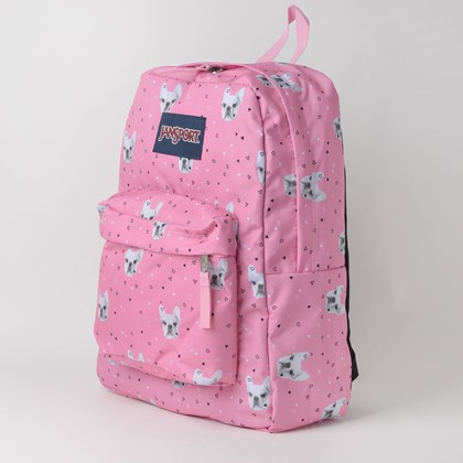 Mochila Jansport Superbreak Rosa T5014P6