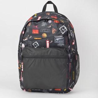 Mochila Puma Academy Backpack Preto Logo 7573304