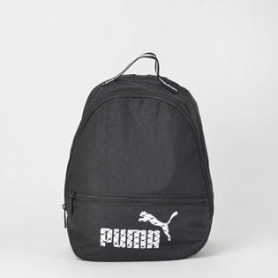 Mochila Puma Core Archive Backpack Preto Branco 7540102