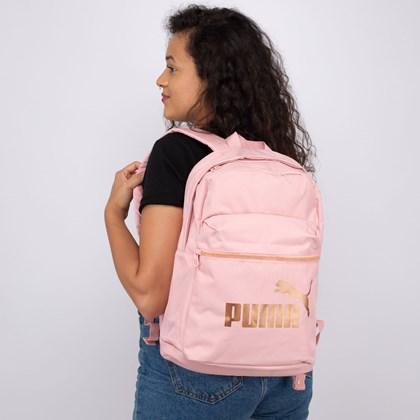 Mochila Puma Core Base College Bridal Rose 077374-02