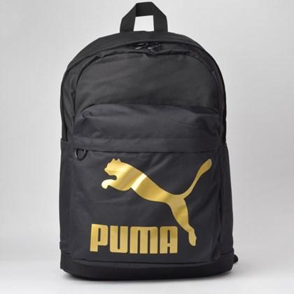 Mochila Puma Originals Backpack Black 07664301