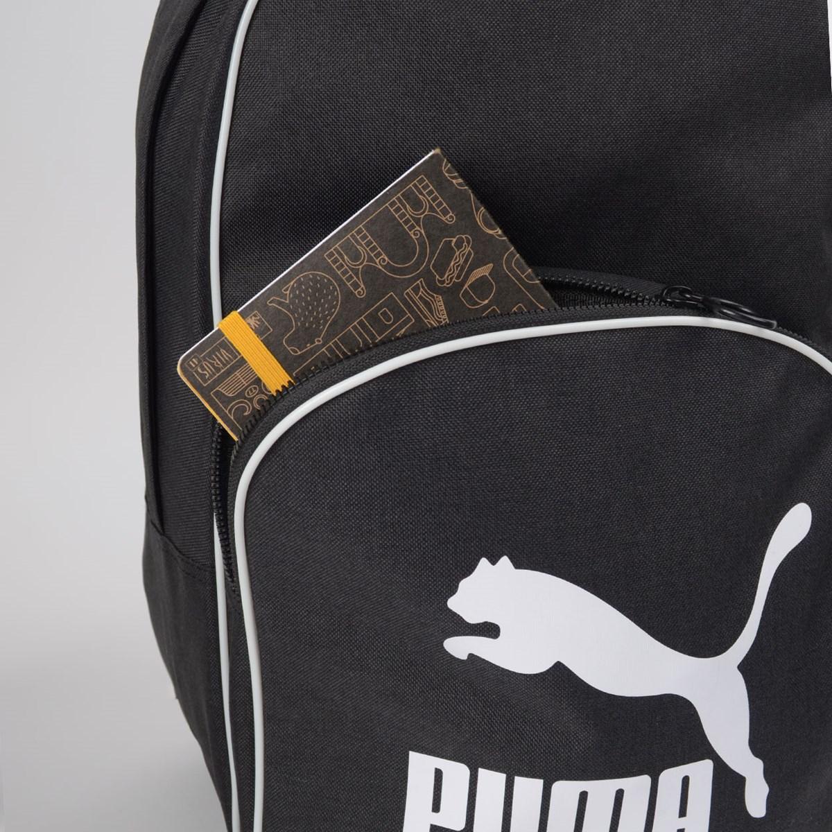 Mochila Puma Originals Backpack Retro Woven Black 7665201