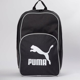 Mochila Puma Originals Backpack Retro Woven Black 7665201
