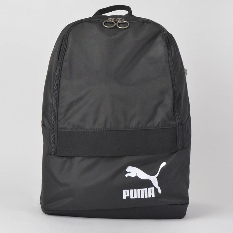 Mochila Puma Originals Backpack Tren Preto Branco 7544201