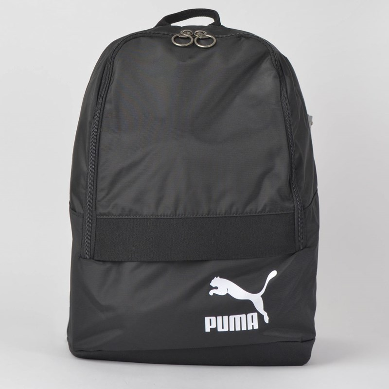 Mochila Puma Originals Backpack Tren Preto Branco 7544201