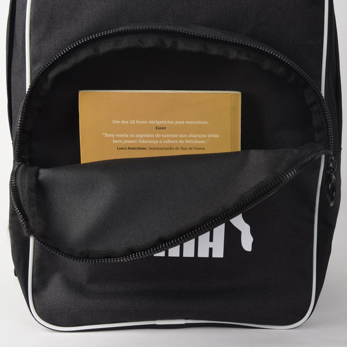 Mochila Puma Originals BP Retro Woven Preto 07665201