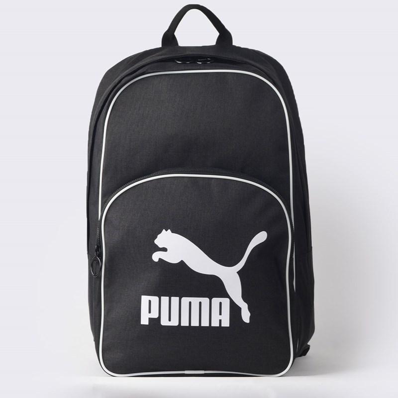 Mochila Puma Originals BP Retro Woven Preto 07665201