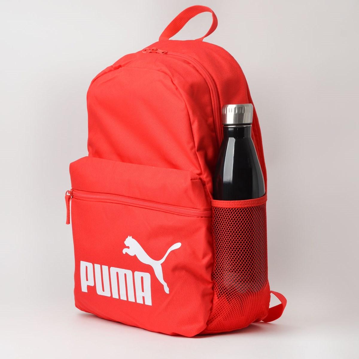 Mochila Puma Phase Backpack Vermelho 07548733