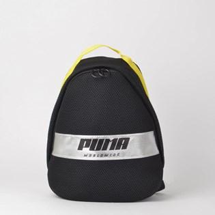 Mochila Puma Prime Street Backpack Preto Amarelo 07579701