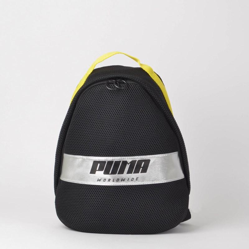 06f17b620 Mochila Puma Prime Street Backpack Preto Amarelo 07579701 - Loja Virus