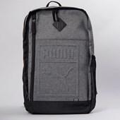 Mochila Puma S Backpack Cinza Preto 07558109