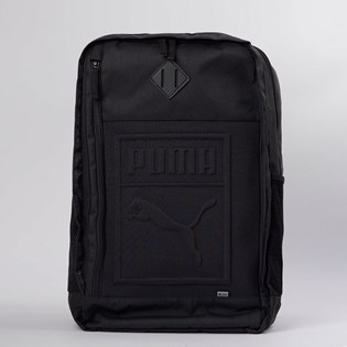 Mochila Puma S Backpack Preto 07558101