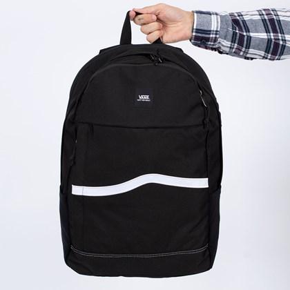 Mochila Vans Construct Backpack Black White VN0A4RWVY28