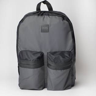 Mochila Vans Double Down Backpack Asphalt Black VN0A3NG3O79