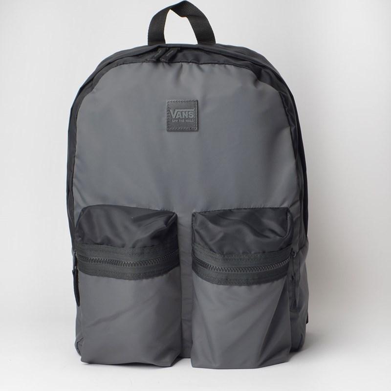 Mochila Vans Double Down Backpack Asphalt Black VN0A3NG3O79