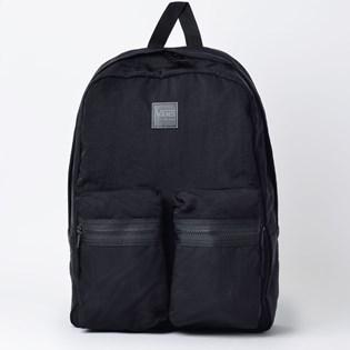 Mochila Vans Double Down Backpack Black VN0A3NG3BLK