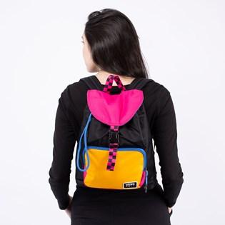 Mochila Vans Glow Stax Backpack Black VN0A4S93BLK