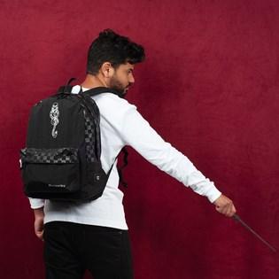 Mochila Vans Harry Potter Dark Arts Backpack Black Checkerboard VN0A47S1UXC