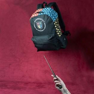 Mochila Vans Harry Potter Hogwarts Backpack Black VN0A47S3UXC