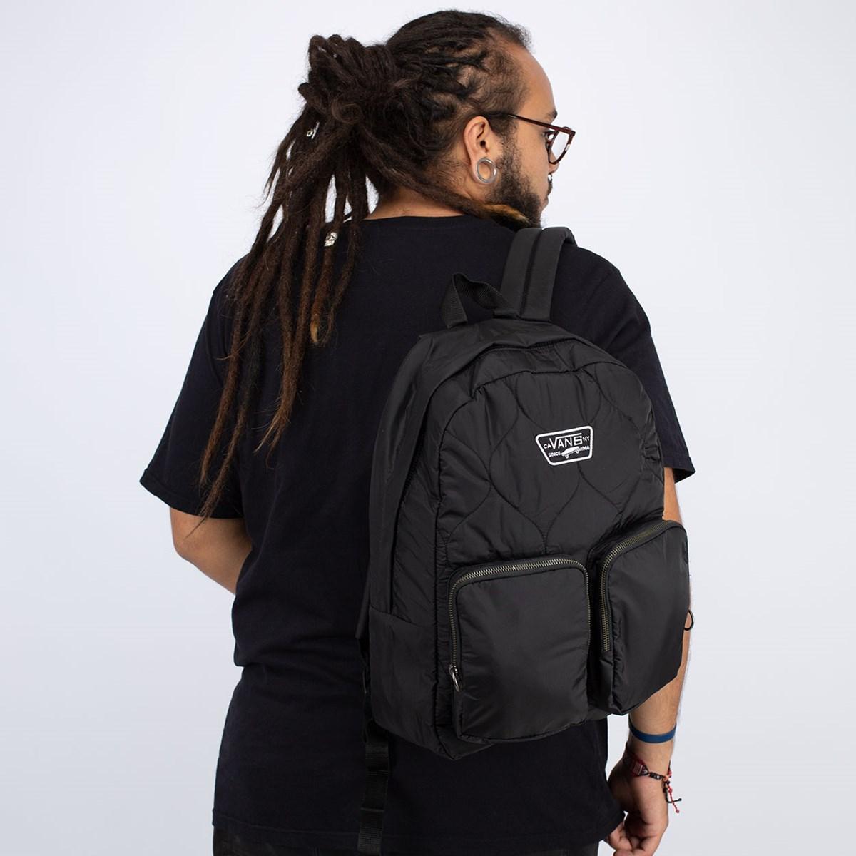 Mochila Vans Long Haul Backpack Black VN0A4S6XBLK