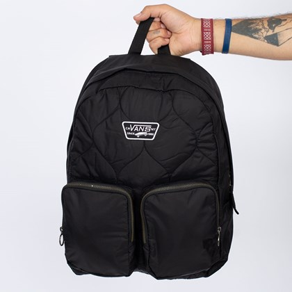 Mochila Vans Long Haul Backpack Black VN0A4S6XBLK