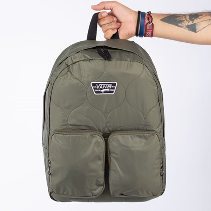 Mochila Vans Long Haul Backpack Grape Leaf VN0A4S6XKCZ