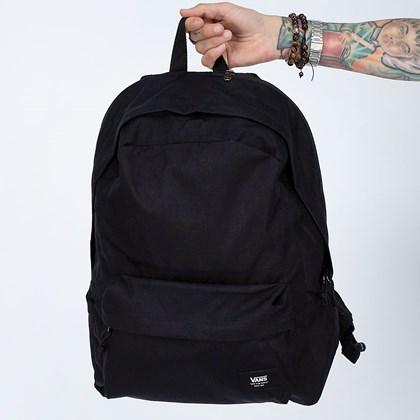 Mochila Vans Mochila Vans Old Skool Plus II Backpack Black Ripstop VN0A3I6S6ZC