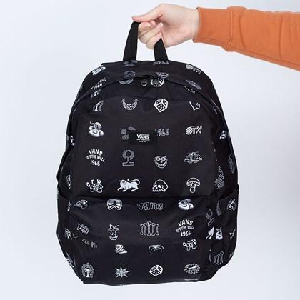Mochila Vans Old Skool H20 Backpack Lost And Found Black VN0A5E2SZBG
