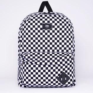 Mochila Vans Old Skool II Backpack Black White Checkerboard VN-0ONIHU0