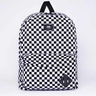 Mochila Vans Old Skool II Backpack Black White Checkerboard VN-0ONIHU0 ... 72336a6f0f4